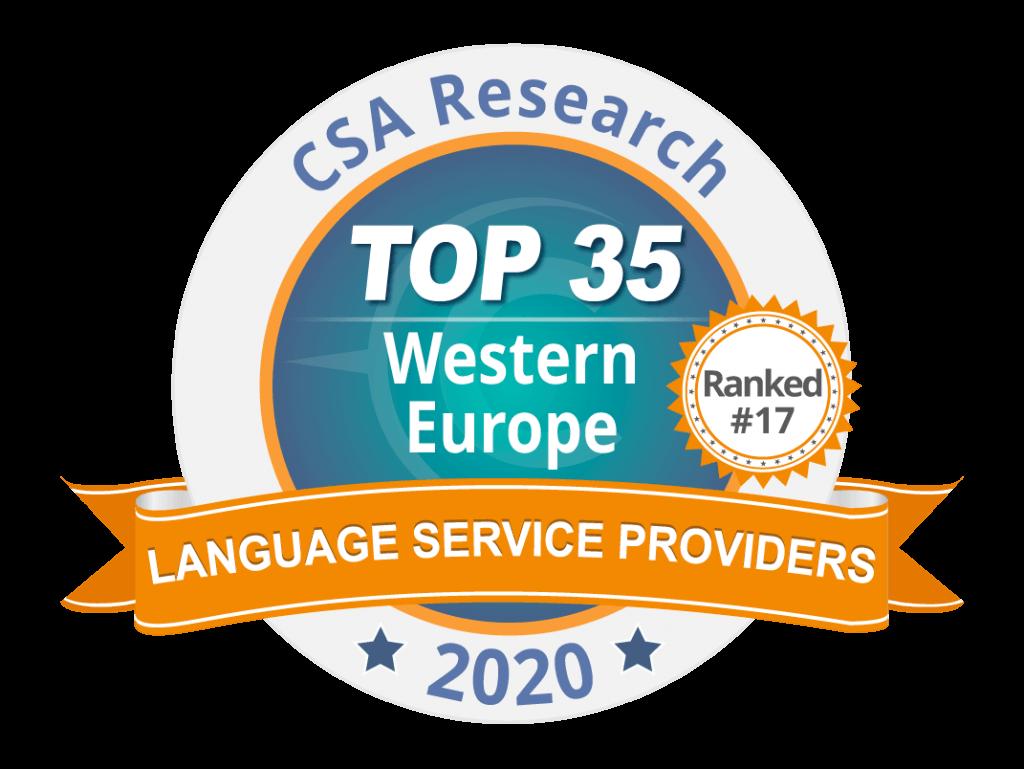 CSA Research TOP 35