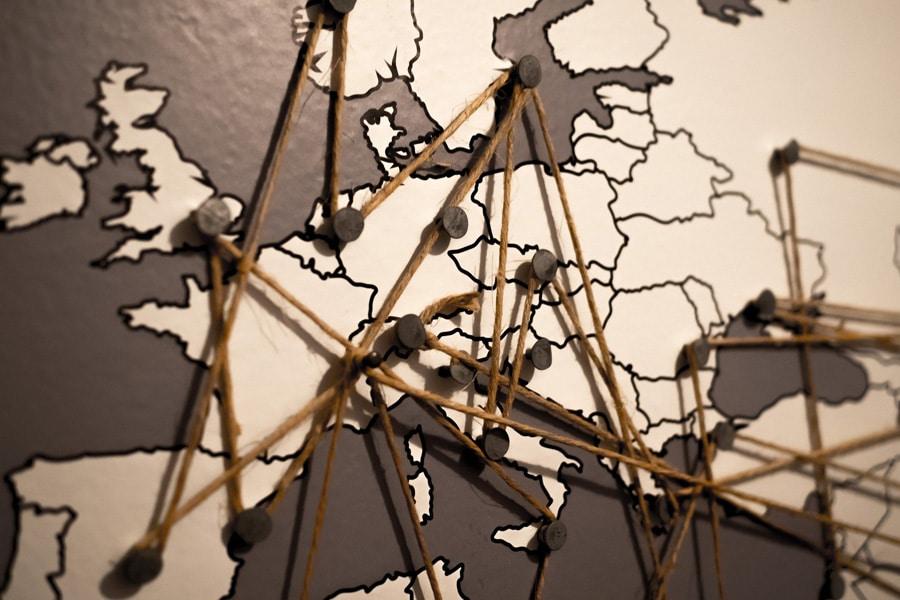 Réseau de filiales à l'étranger