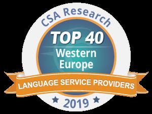 Traductec TOP 40 sociétés de traduction en Europe